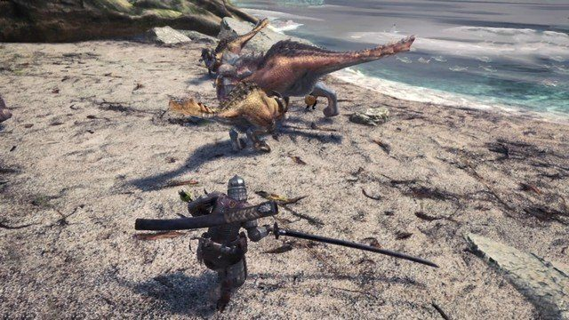 Monster Hunter World Dinosaurs
