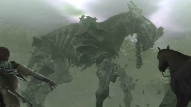 Shadow of the Colossus 4th Boss