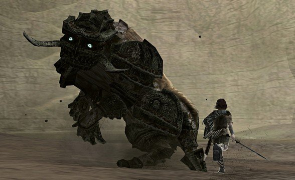 <em>Shadow of the Colossus</em> Eleventh Colossus