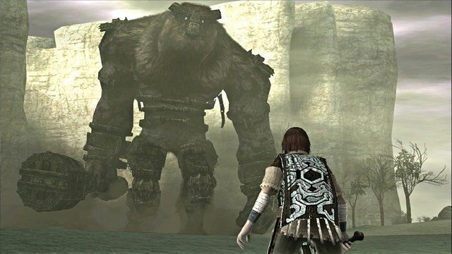 <em>Shadow of the Colossus</em> First Colossus Valus