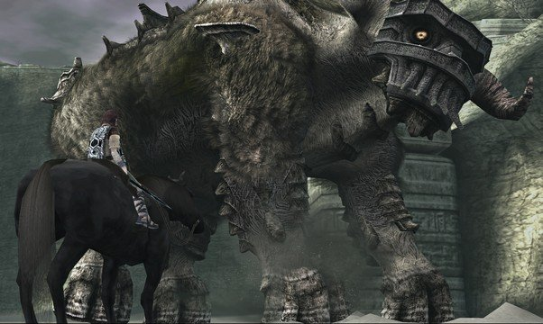 <em>Shadow of the Colossus</em> Second Colossus