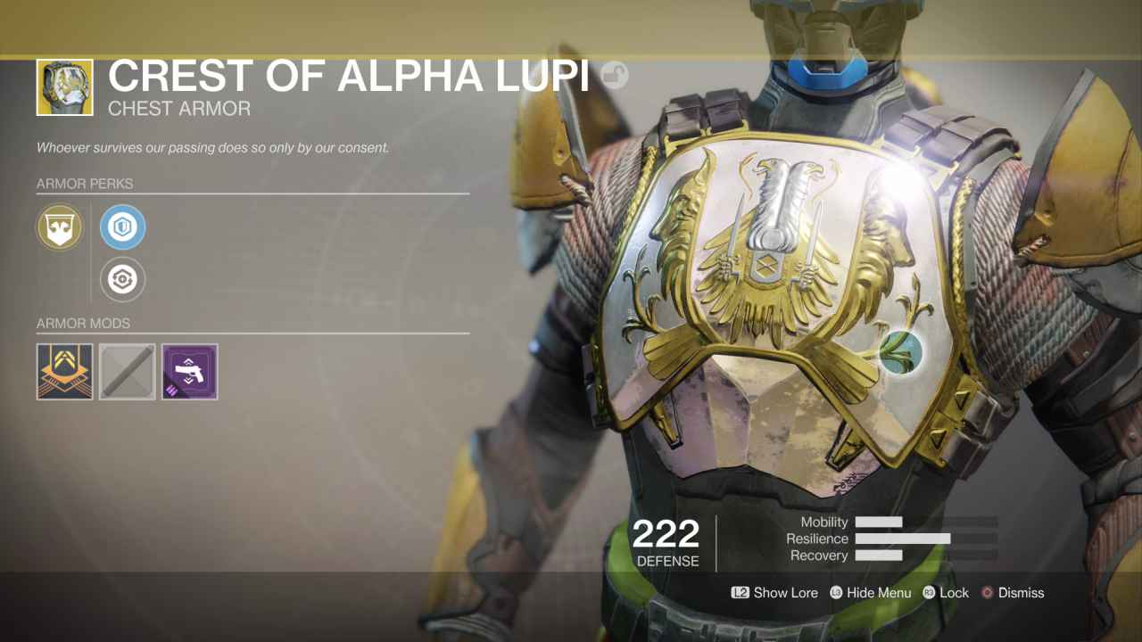 Destiny 2 Crest Of Alpha Lupi All Abilities And Why You