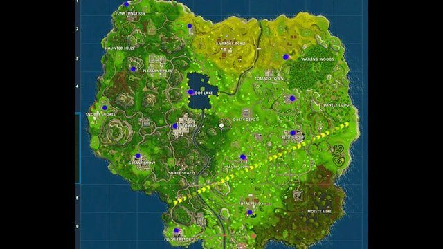 Fortnite Forbidden Locations
