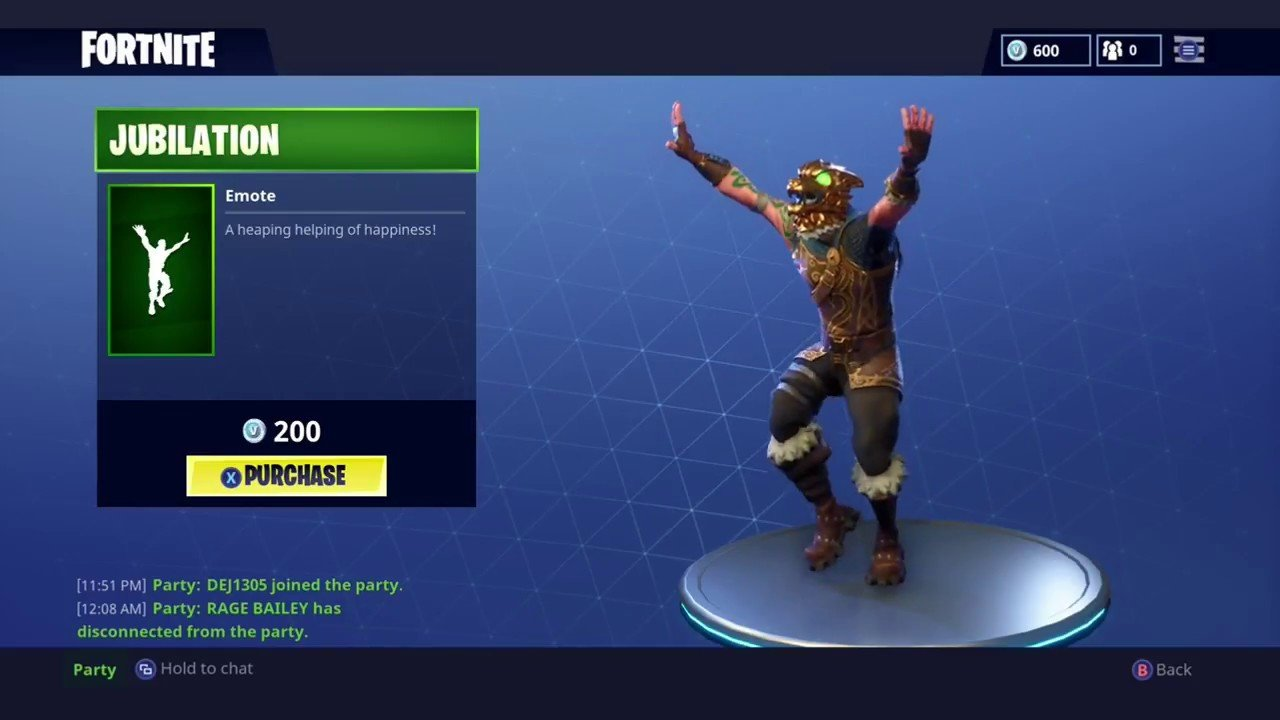 Fortnite Jubilation Emote What It Is How To Get It More