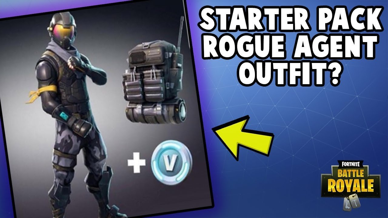 starter pack on fortnite