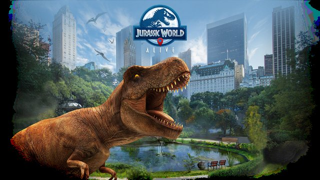 Jurassic World Alive looks like a Pokémon Go knock-off with dinosaurs
