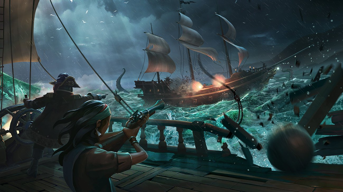 Sea of Thieves How Many Players Per Server