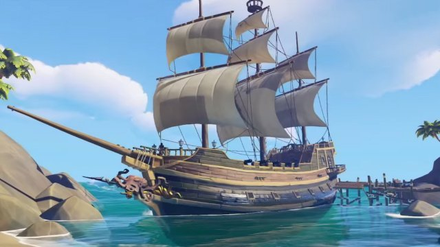 Sea of Thieves Galleon vs Sloop