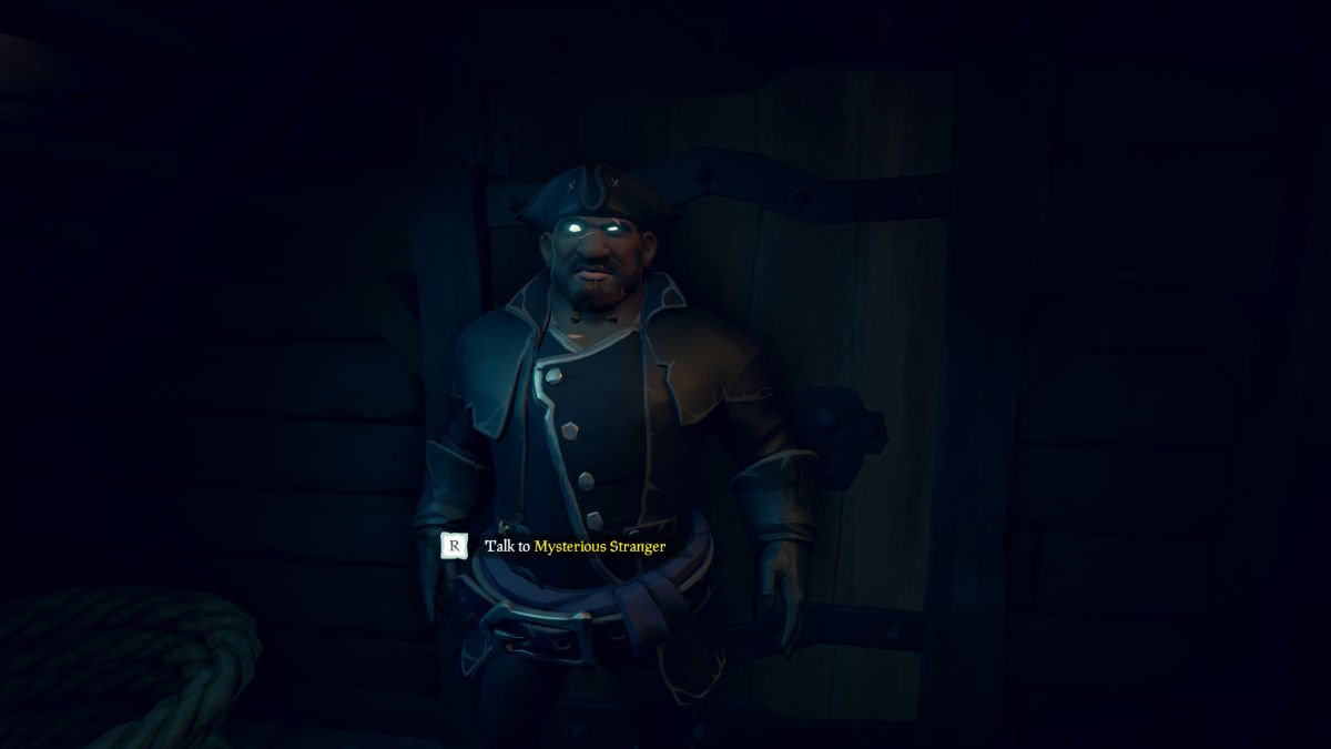 Sea of Thieves Mysterious Stranger