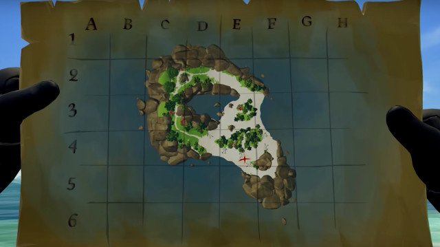 Sea of Thieves Maps: How to Find Treasure and How to Use Maps
