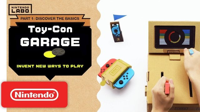 Invent new ways to play with Toy-Con Garage - Episode 1