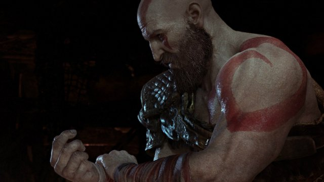 God of War 2018 Kratos With Bandages