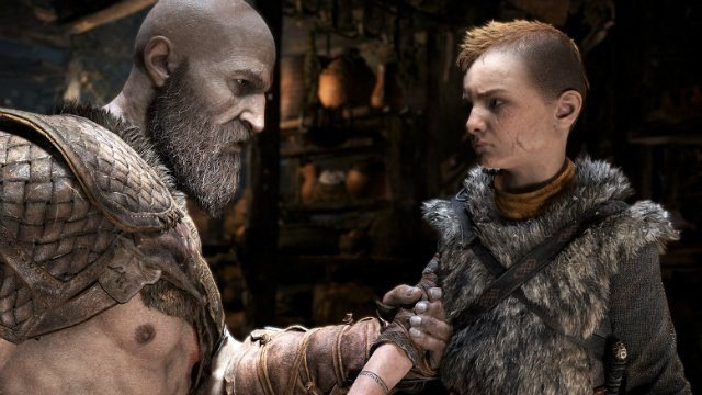 God of War 2018 Review Kratos and Atreus