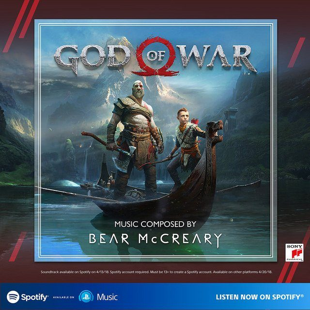 God of War Soundtrack Cover Image