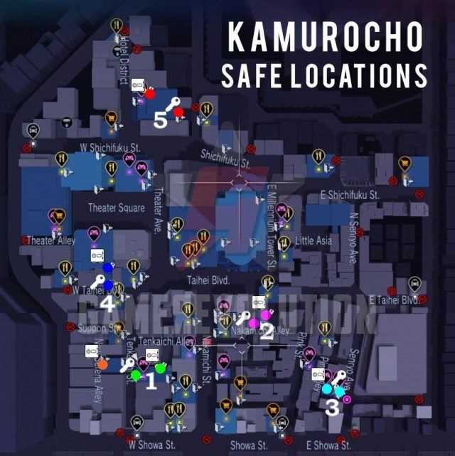 Kamurocho-Safe-and-Key-Locations-Map