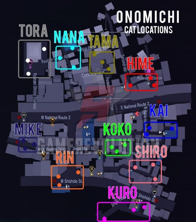 Onomichi-Cat-Locations-Map