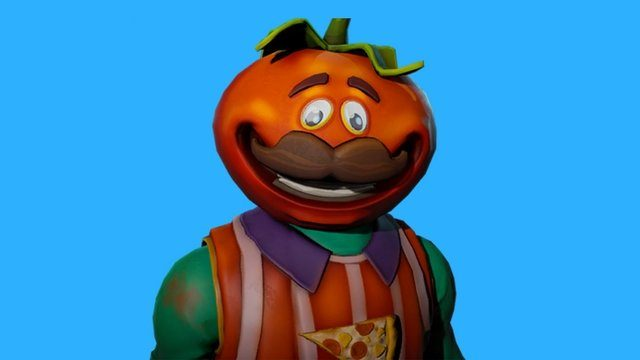 Image result for fortnite skins tomato head holding pickaxe