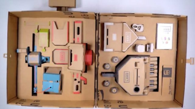 God Of War keeps Nintendo Labo from United Kingdom number one