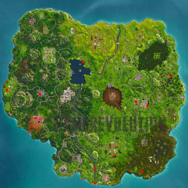 Fortnite Duck Locations Here Are The Rubber Duck