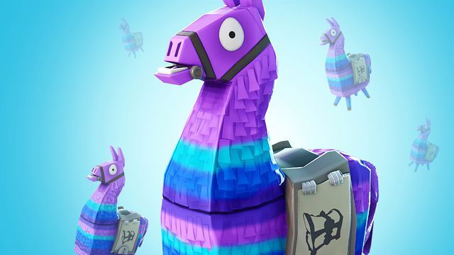 Fortnite Llama Coloring Page Printable Get Home Inteiror House