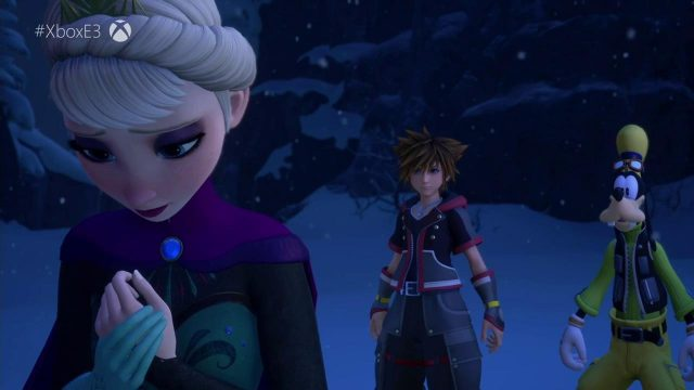 Kingdom Hearts 3 E3 2018 Frozen