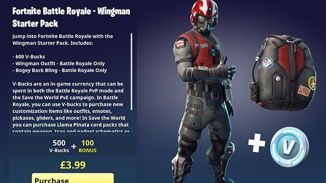New Fortnite Starter Pack 2: Is the Wingman Starter Pack ...