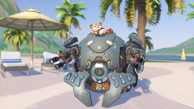 Overwatch is a racing game now that it has hamster balls