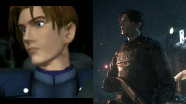 RE2 Leon Original vs Remake