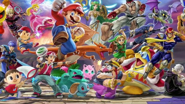 Super Smash Bros sales