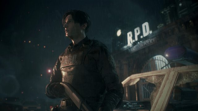 Resident Evil 2 remake Preview Leon RPD