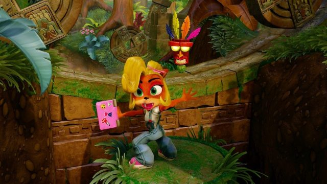 Crash Bandicoot N. Sane Trilogy Review Switch Coco