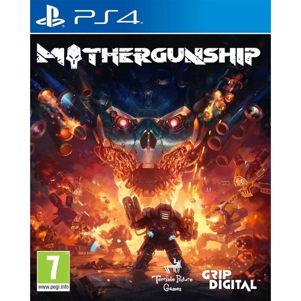 Box art - MOTHERGUNSHIP
