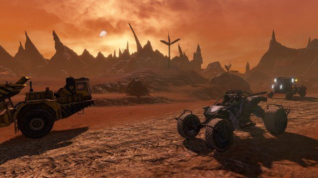 Red Faction Guerilla ReMARStered Vehicles