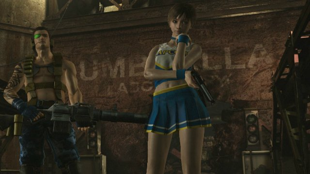 Resident Evil 0 Becky and Billy