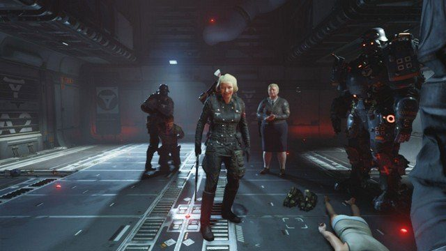 Wolfenstein 2 Switch Review Engel