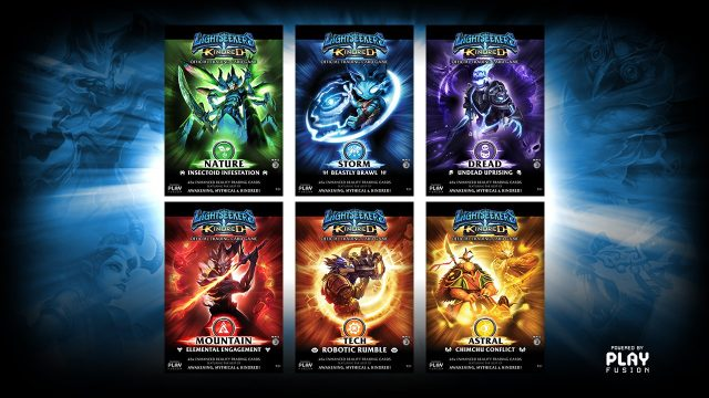 lightseekers mobile tcg lets you scan your cards and play digitally