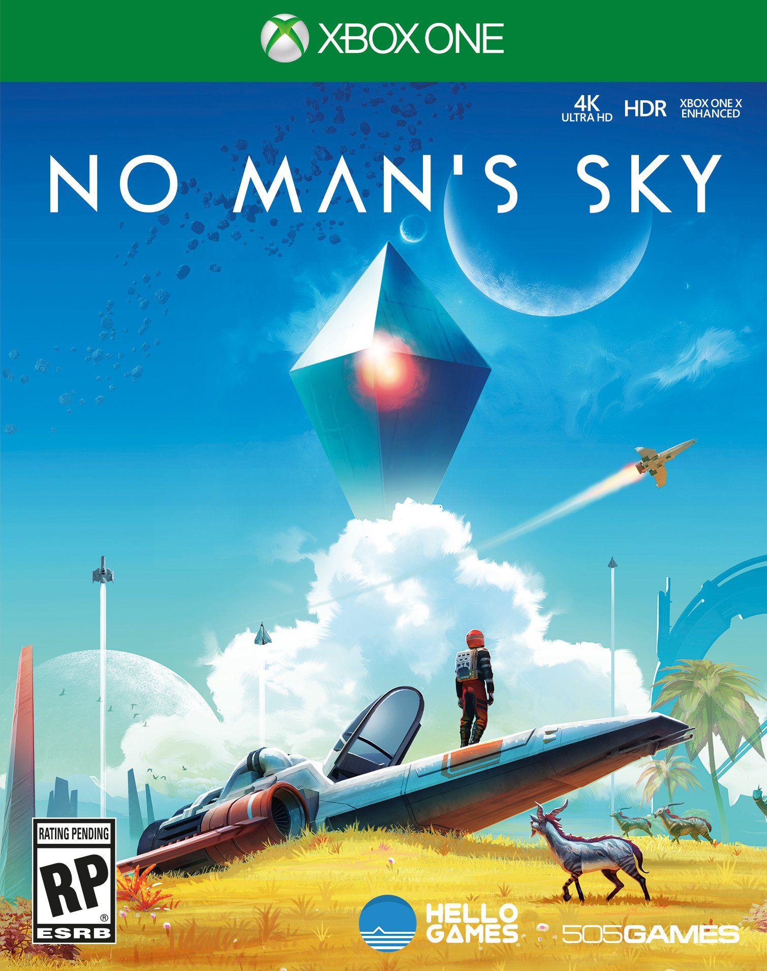 Box art - No Man's Sky