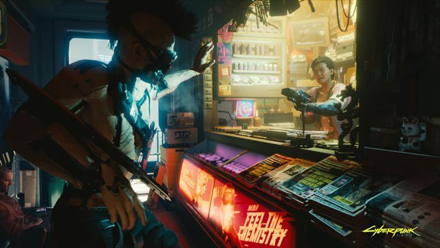 Cyberpunk 2077 Switch