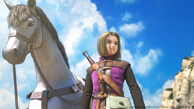Dragon Quest 11 Review Horse Close Up