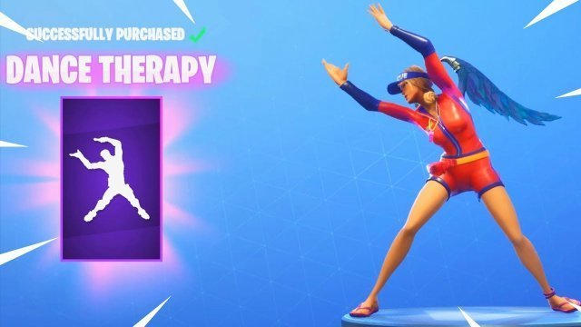 Fortnite Dance Therapy Emote