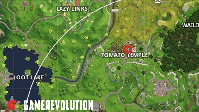 fortnite road trip week 8 challenges find the tomato temple banner