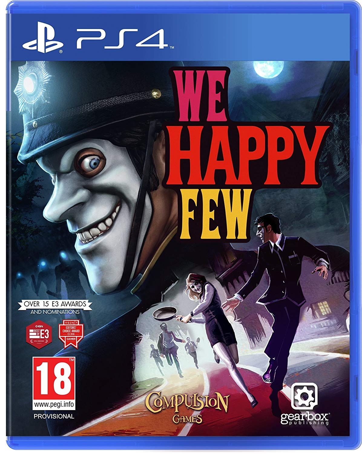 Box art - We Happy Few