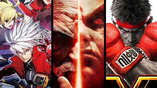 Tekken 7, Street Fighter 5, and BlazBlue Cross Tag Battle
