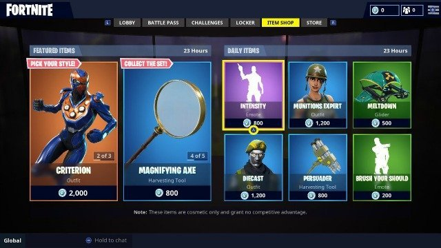 Fortnite Item Shop September 11: Army Everything ...