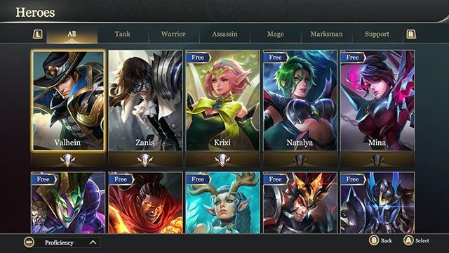 Arena of Valor Switch Guide: Beginners Tips, Tier List, Hero List