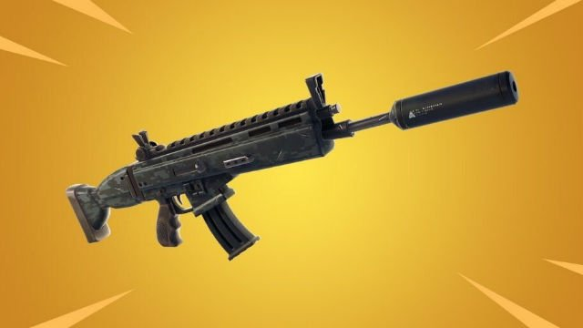 fortnite suppressed assault rifle