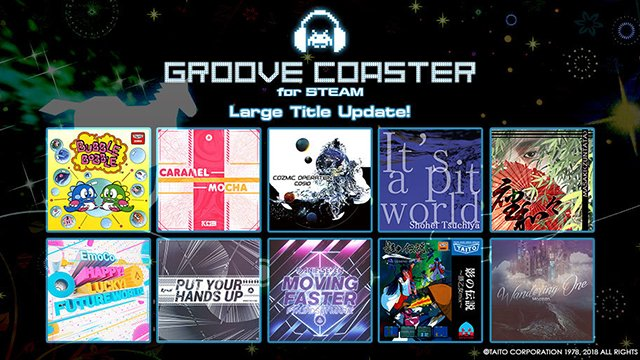Groove Coaster 1.2 update