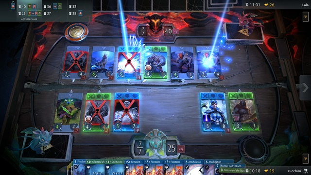 Artifact beta delayed