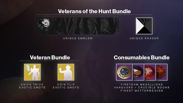 Destiny 2 DLC Forsaken Veteran Rewards