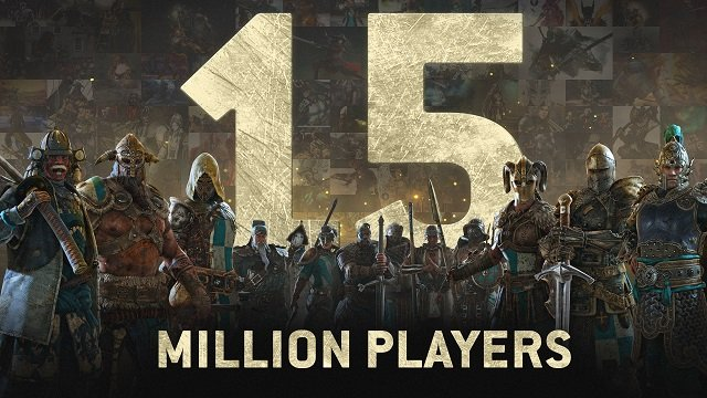 For Honor Ubisoft 15 Million